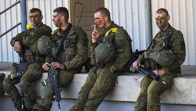 Военные учения НАТО. Архивное фото
