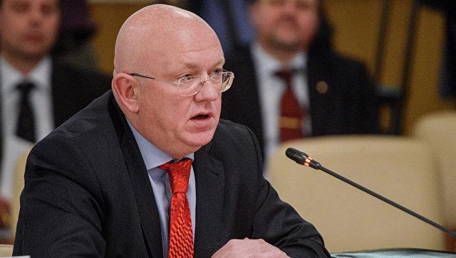 Постпред России при ООН Василий Небензя. Архивное фото