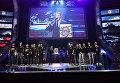 Представление команд перед началом финального этапа гранд-финала по World of Tanks между командами DiNG (Европа) и TORNADO ENERGY (СНГ) в комплексе ВТБ Ледовый дворец в Москве