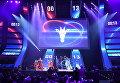 Шоу перед началом финального этапа гранд-финала по World of Tanks в комплексе ВТБ Ледовый дворец в Москве