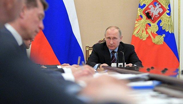 Планы финансового развитияРФ должны быть ясными иреалистичными, считает Путин
