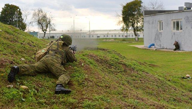 Русских военных набазе вАбхазии подняли поучебной тревоге