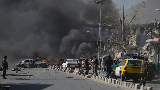 В Кабуле при взрыве повреждено посольство Турции
