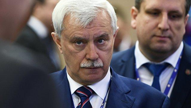Губернатор Санкт-Петербурга Георгий Полтавченко на Санкт-Петербургском международном экономическом форуме 2017