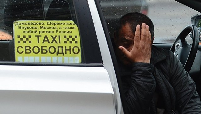 В Домодедово таксист-нелегал наехал на полицейского