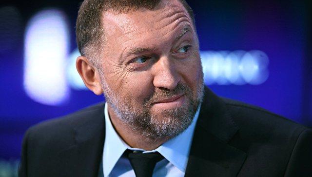 Президент компании РУСАЛ Олег Дерипаска. Архивное фото
