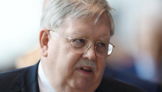 Посол США в России Джон Теффт на Санкт-Петербургском международном экономическом форуме 2017