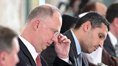 Генеральный директор Российского фонда прямых инвестиций Кирилл Дмитриев на Санкт-Петербургском международном экономическом форуме 2017