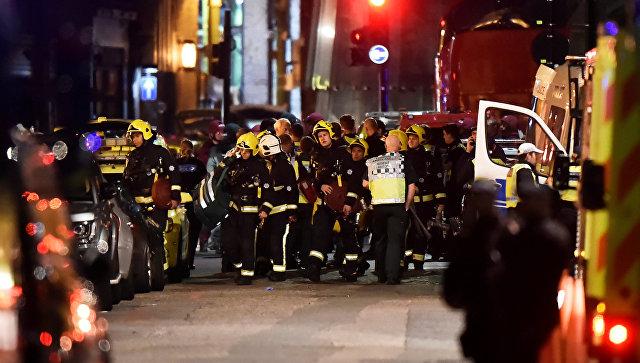 Встолице Англии госпитализировали неменее 30 человек после терактов
