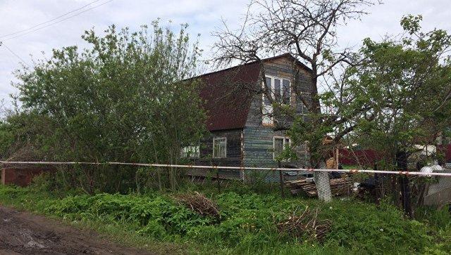 На месте массового убийства в Тверской области. 4 июня 2017