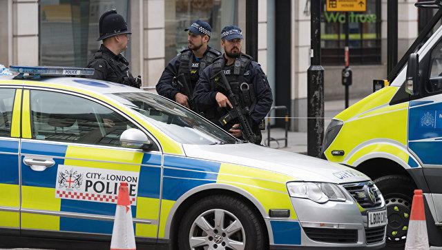 Полицейский кордон в Британии. Архивное фото