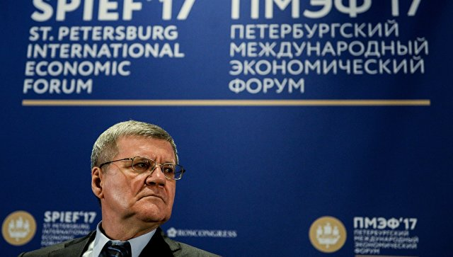 Генпрокурор России: «Против меня пытаются завести уголовное дело»