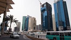 Новостройки на одной из центральных улиц столицы Катара. Архивное фото