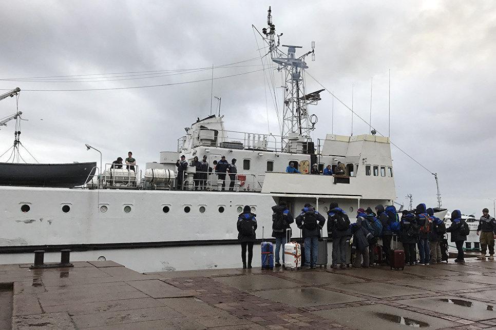 Волонтёры комплексной экспедиции РГО Гогланд готовятся к отплытию на внешние острова Финского залива