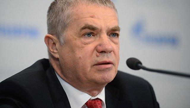 Заместитель председателя правления компании Газпром Александр Медведев на пресс-конференции на тему: Экспорт и повышение надежности поставок газа в Европу
