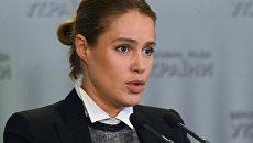 Народный депутат Украины Наталья Королевская. Архивное фото