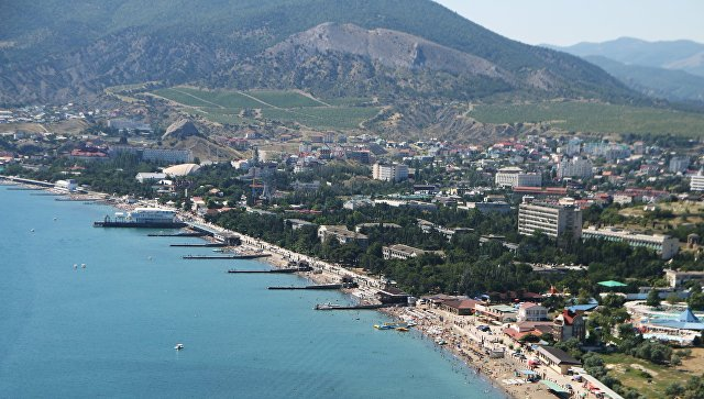 Отдых в Крыму. Архивное фото