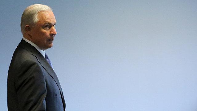 Руководитель  минюста США выступит в съезде  наслушаниях по РФ