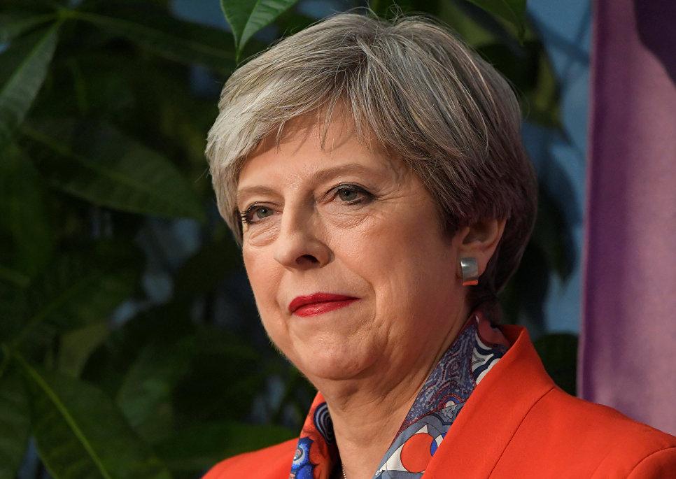 Мэй намерена попросить разрешения королевы Елизаветы II на формирование правительства