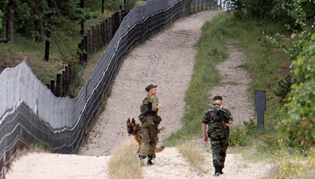 Российские пограничники в Армении провели тренировку поиска условных нарушителей государственной границы