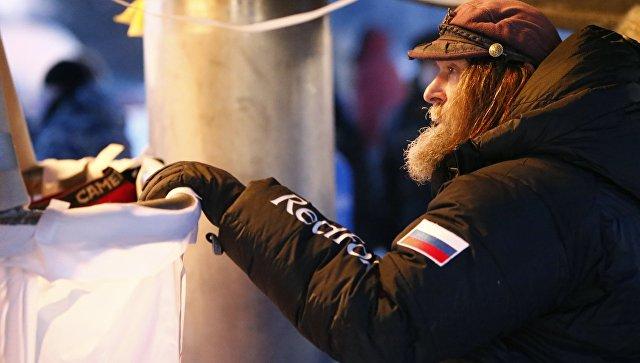 Федор Конюхов первым вмире перелетит навоздушном шаре через Эльбрус