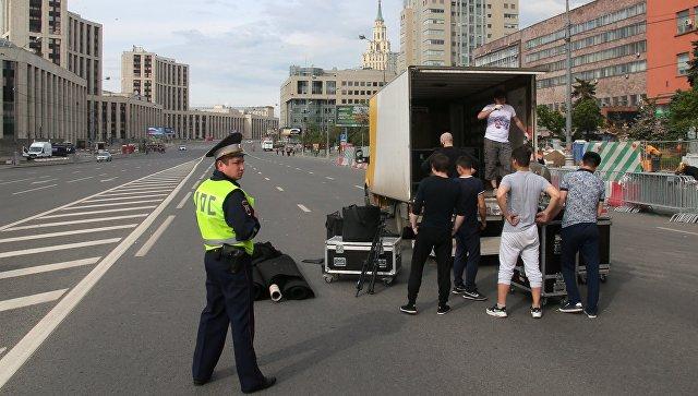 Напроспект Сахарова в столице России вышли только 1800 участников митинга  ...