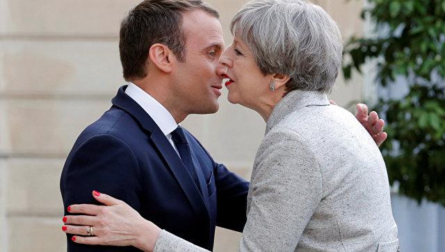 Макрон рассказал оботношениях Франции и Англии после Brexit