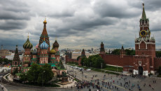 Вид на Собор Василия Блаженного в Москве. Архивное фото