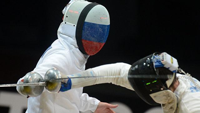 Российский шпажист Павел Сухов. Архивное фото
