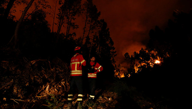Путин направил сожаления  президенту Португалии всвязи сжертвами отпожаров