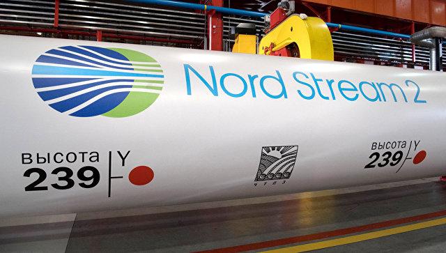 Трубы для газопровода Северный поток 2