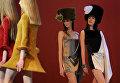 Показ новой коллекции одежды дизайнера Пьера Кардена в Москве. 2011 год