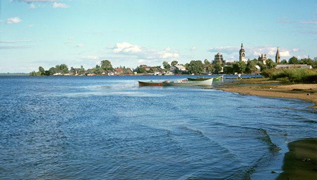 Вид на город Осташков. Архивное фото