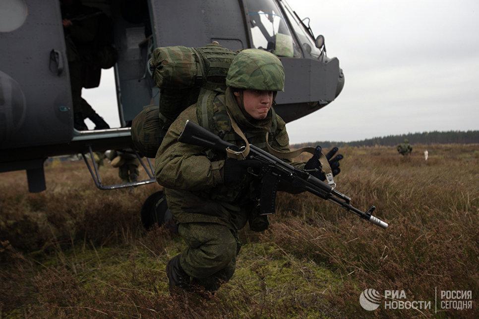 Под Брестом завершились учения российских и белорусских десантников