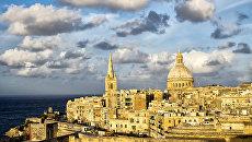 Столица Мальты Валлетта. Архив