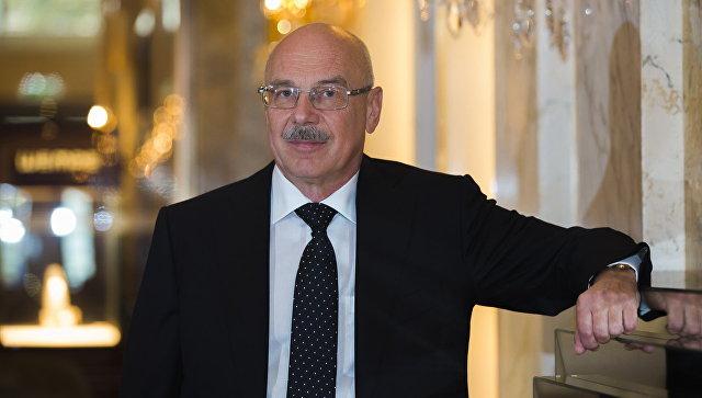 Постоянный представитель Российской Федерации при международных организациях в Вене Владимир Воронков. Архивное фото