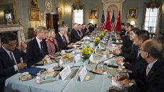 Американо-китайский диалог по дипломатии и безопасности в Вашингтоне. 21 июня 2017
