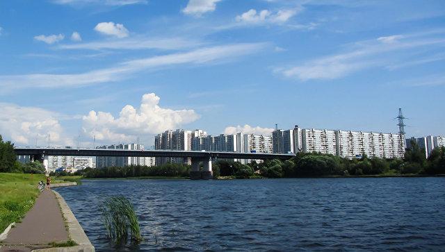 Братеевский мост. Архивное фото