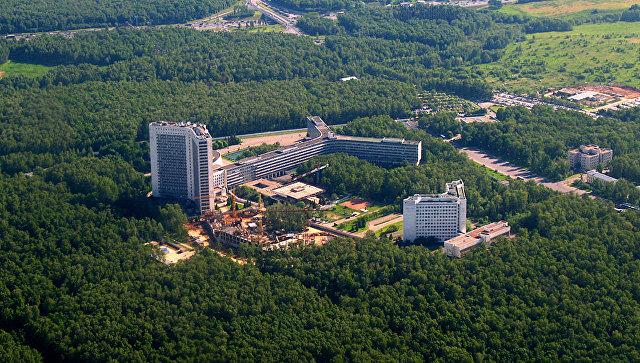 Здание штаб-квартиры СВР в Москве