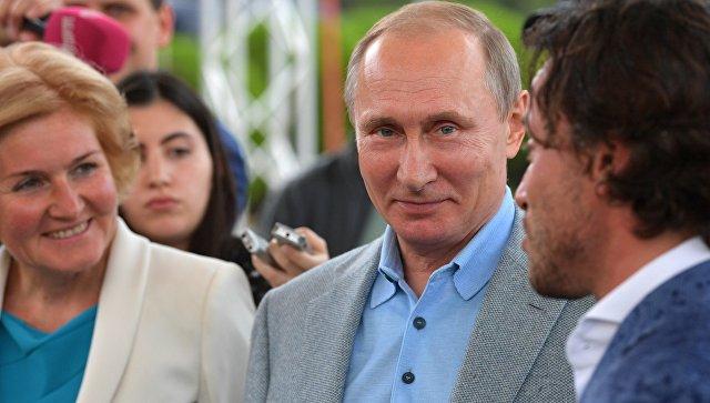 Путин и любитель вина из «Артека»