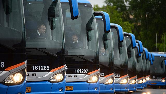 Автобусы ГУП Мосгортранс. Архивное фото
