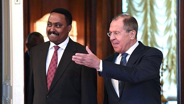 Лавров объявил онеобходимости для РФ развивать отношения сЭфиопией