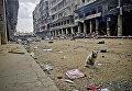 На одной из улиц Старого города в историческом центре Алеппо. Сирия, 15.02.2016