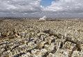 Вид на город Алеппо. Сирия, 13.04.2016