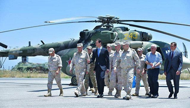 Начальник Генштаба ВС России обсудил с Асадом координацию в борьбе с ИГ*