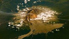 Вулкан Шивелуч на Камчатке. Архивное фото