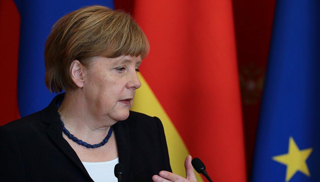 Меркель высказалась за создание единой экономической зоны с Россией