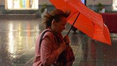 Ветер. Архивное фото