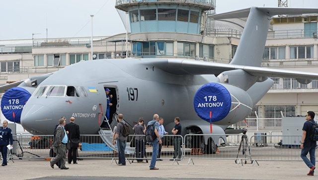Украинский военно-транспортный самолет Ан-178. Архивное фото