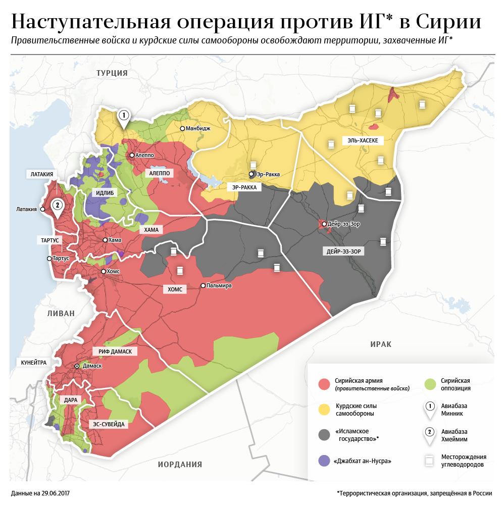 Наступательная операция против ИГ* в Сирии